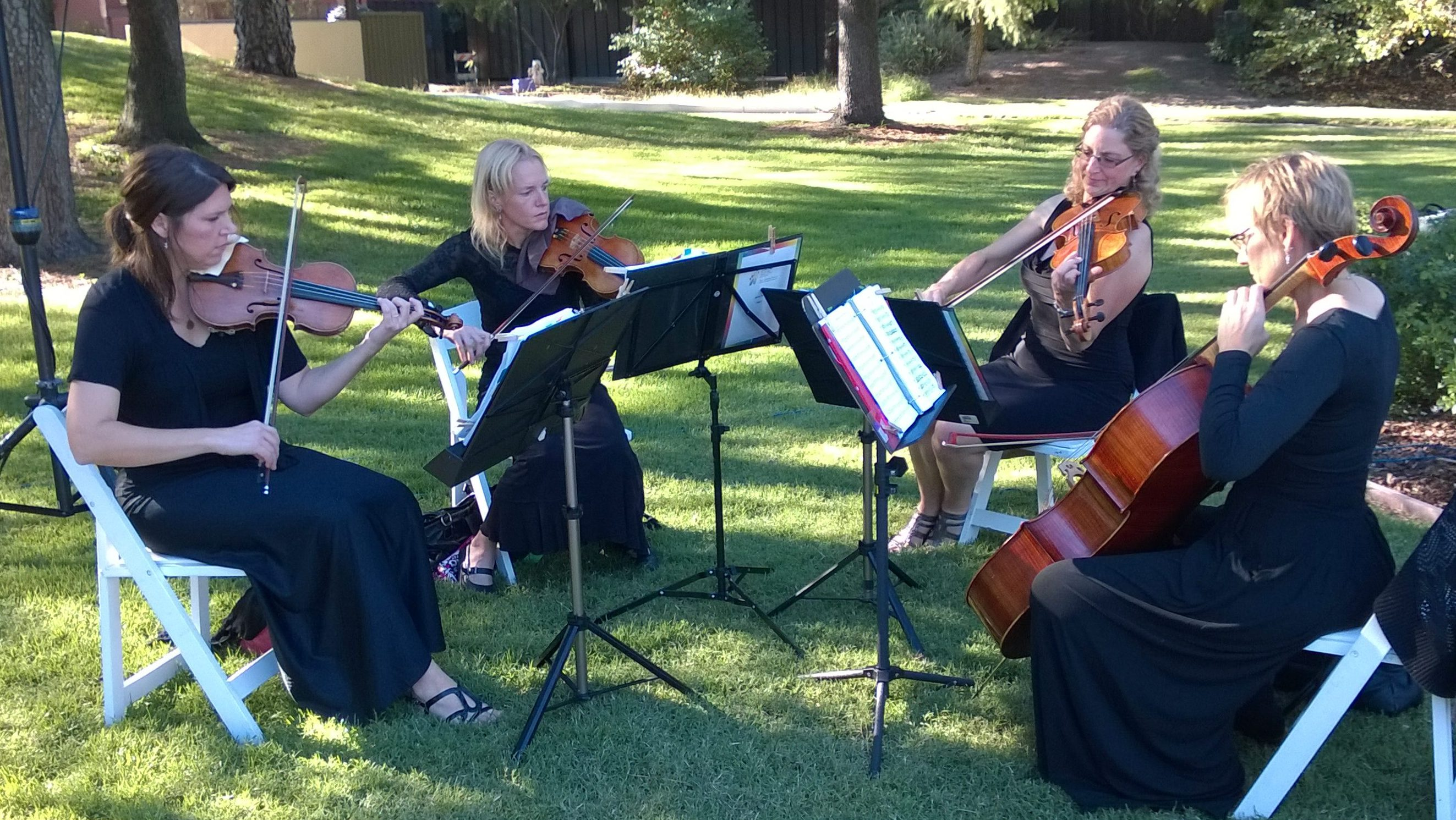 String Quartet Wedding Pleasant Hill