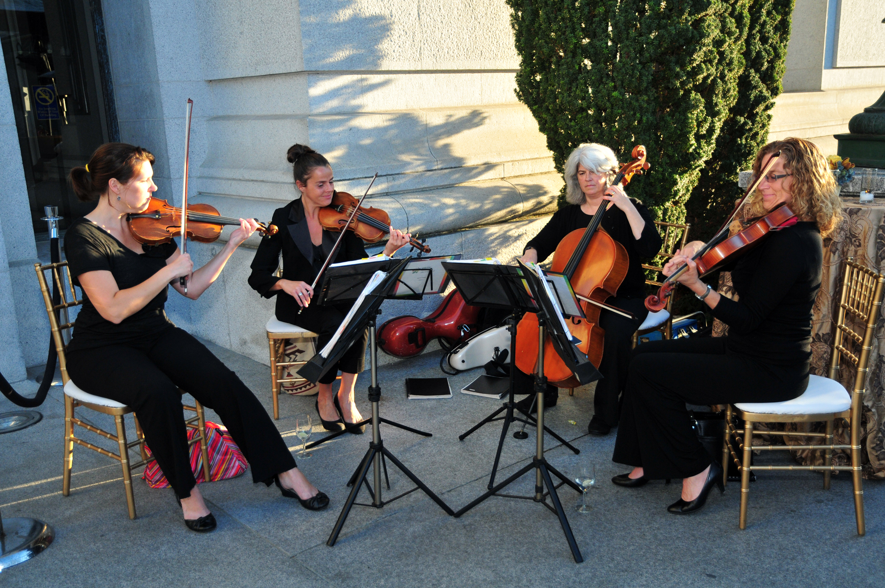 String Quartet Wedding.Garden Strings Music For Your Special Occasion